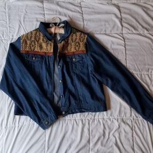 Vintage Southwest Denim Jacket